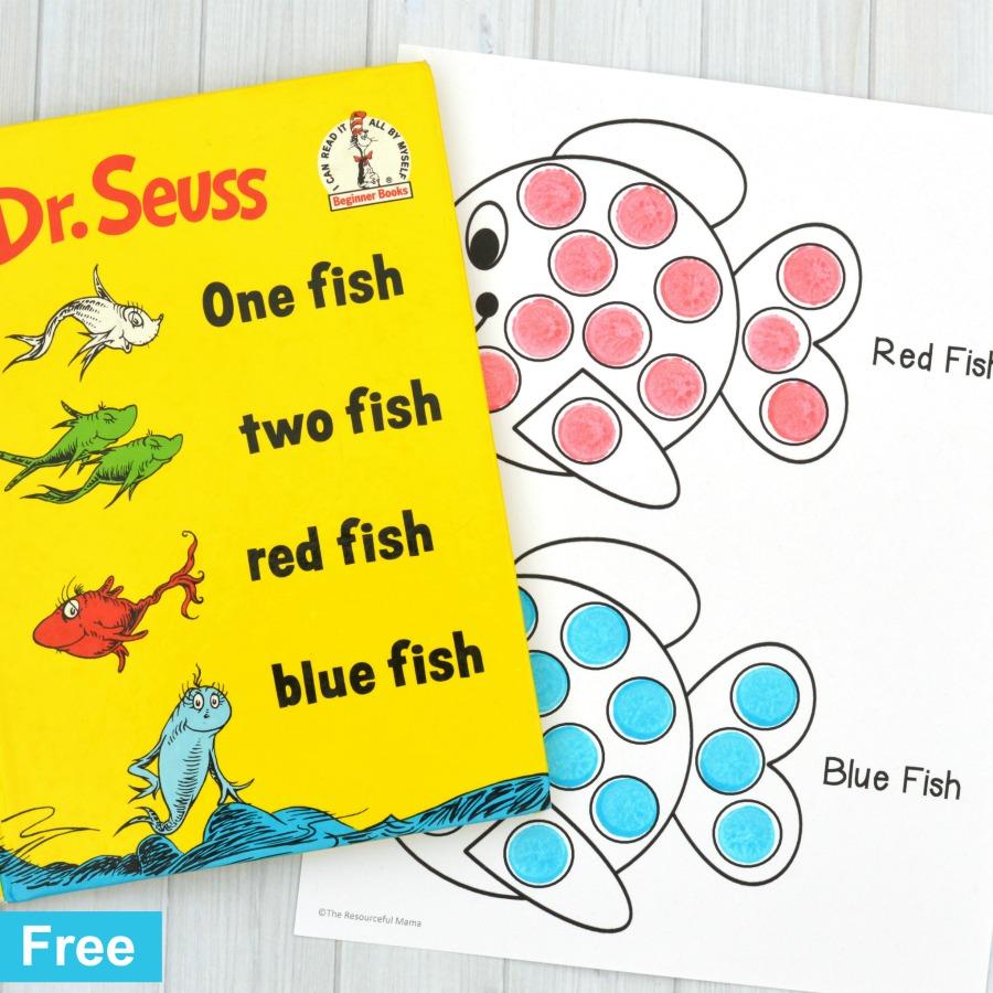medium resolution of Red Fish Blue Fish Activity