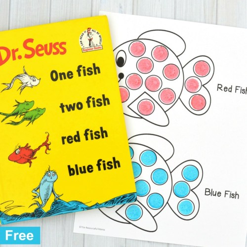 small resolution of Red Fish Blue Fish Activity