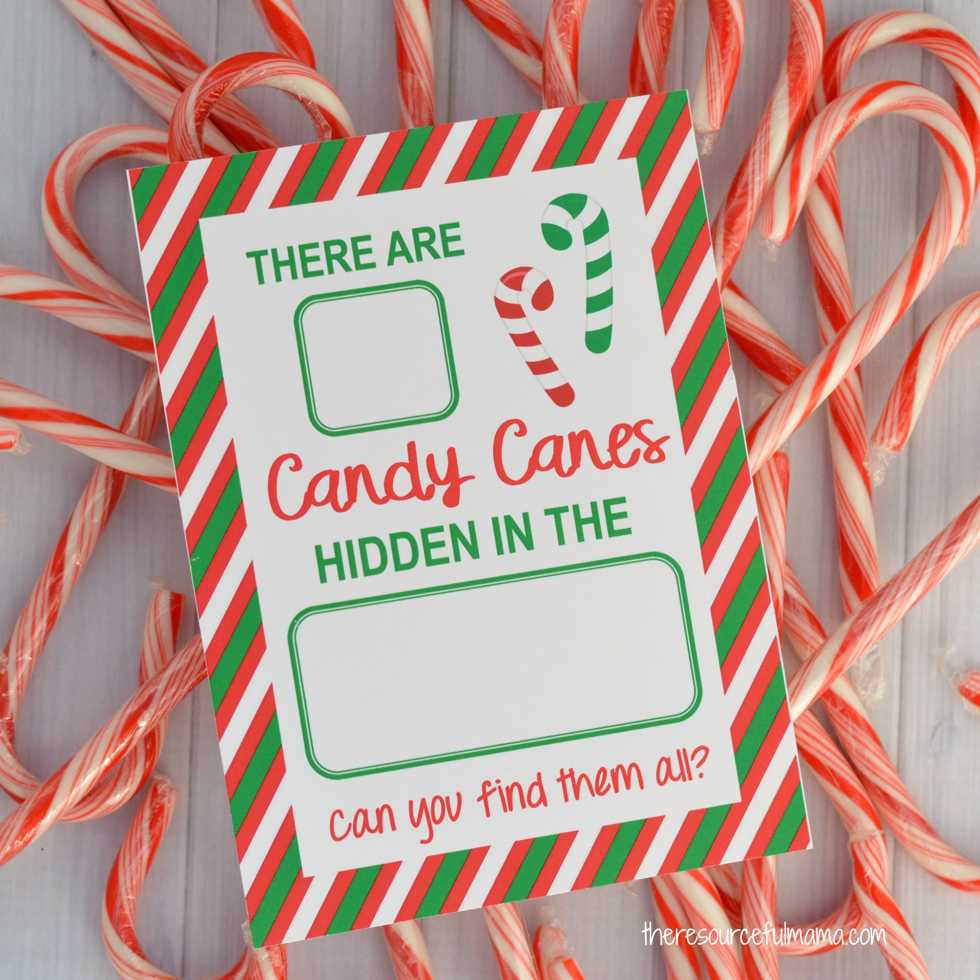 Hide Amp Seek Candy Cane Game Square