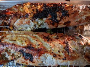 Roasted Orange Rosemary Pork Tenderloin
