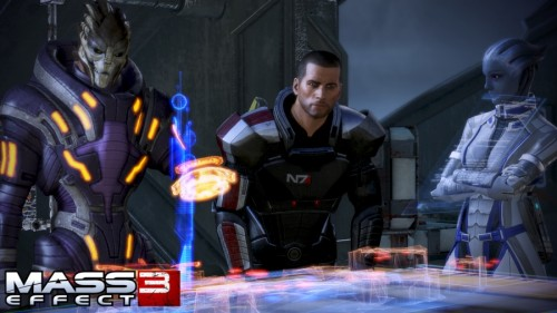 Kevin's Default Mass Effect 3 Shepard