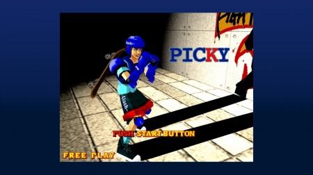 Plucky Picky picks a fight.