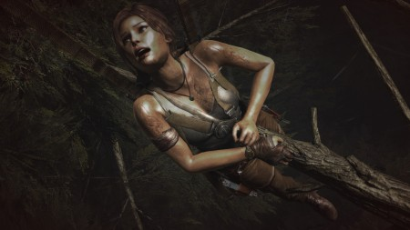 I managed to kill Lara like this just a few times.