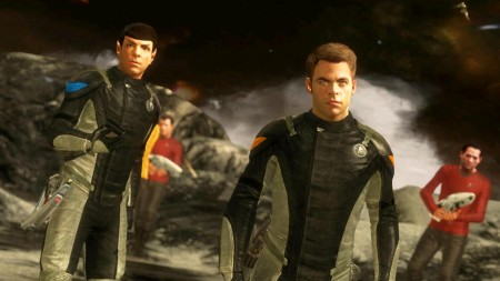 Star Trek Screenshot Release Date 26th April Kirk Spok