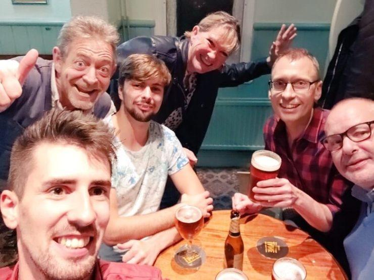 Locals at The Retreat Pub in Reading