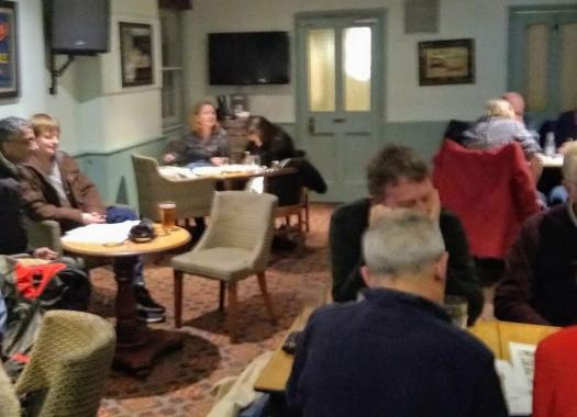 Quiz Night at The Retreat pub in Reading