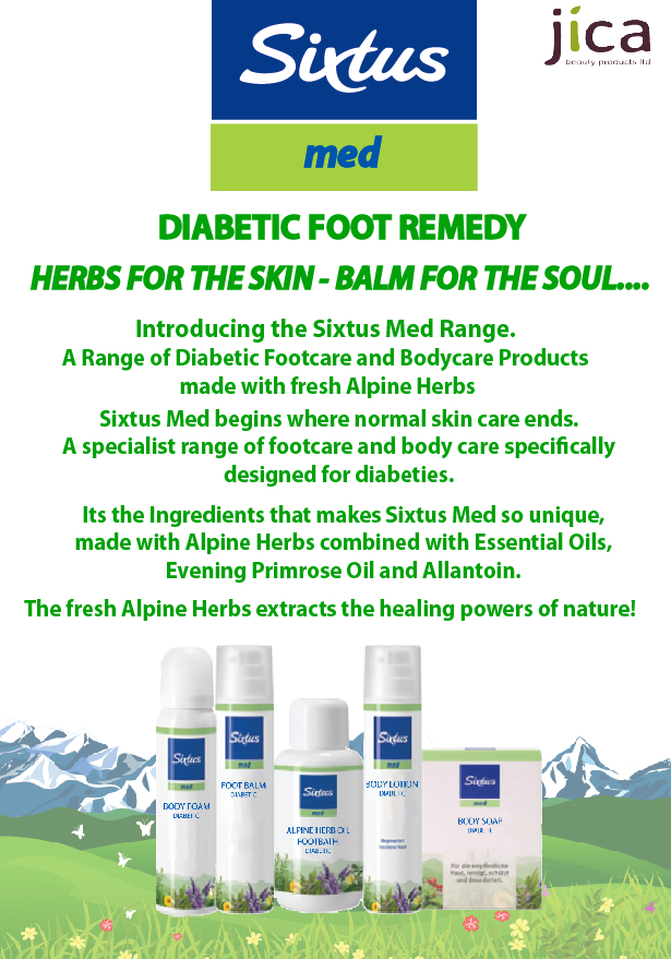 Sixtus Diabetic Foot Remedy