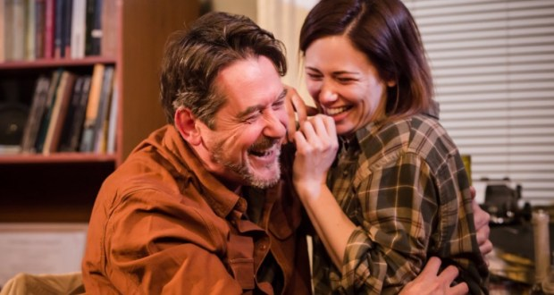 Adrian Lukis and Jill Witnernitz in Im Gonna Pray So Hard For You