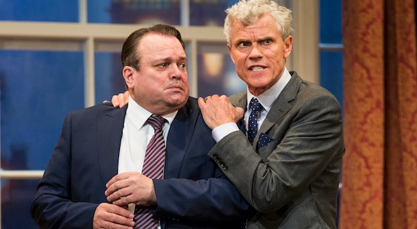 Shaun Williamson and Andrew Hall in Out of Order