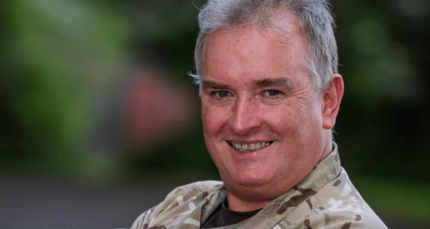 colonel gordon mackenzie in combat fatigues