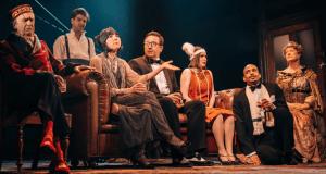 cast of citizens theatre lyceum edinburgh hayfever noel coward