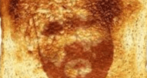 mark dean quinn face on piece of toast