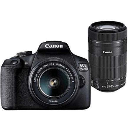 Canon 1500D DSLR