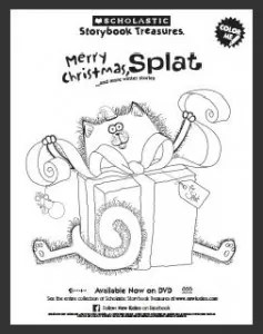 Scholastic: Merry Christmas Splat DVD Plus Download A