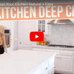 Easy Green Cleaning In Action – Brittany Vasseur Beauty