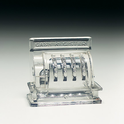 American Glass Candy Containers 29 Cash Register