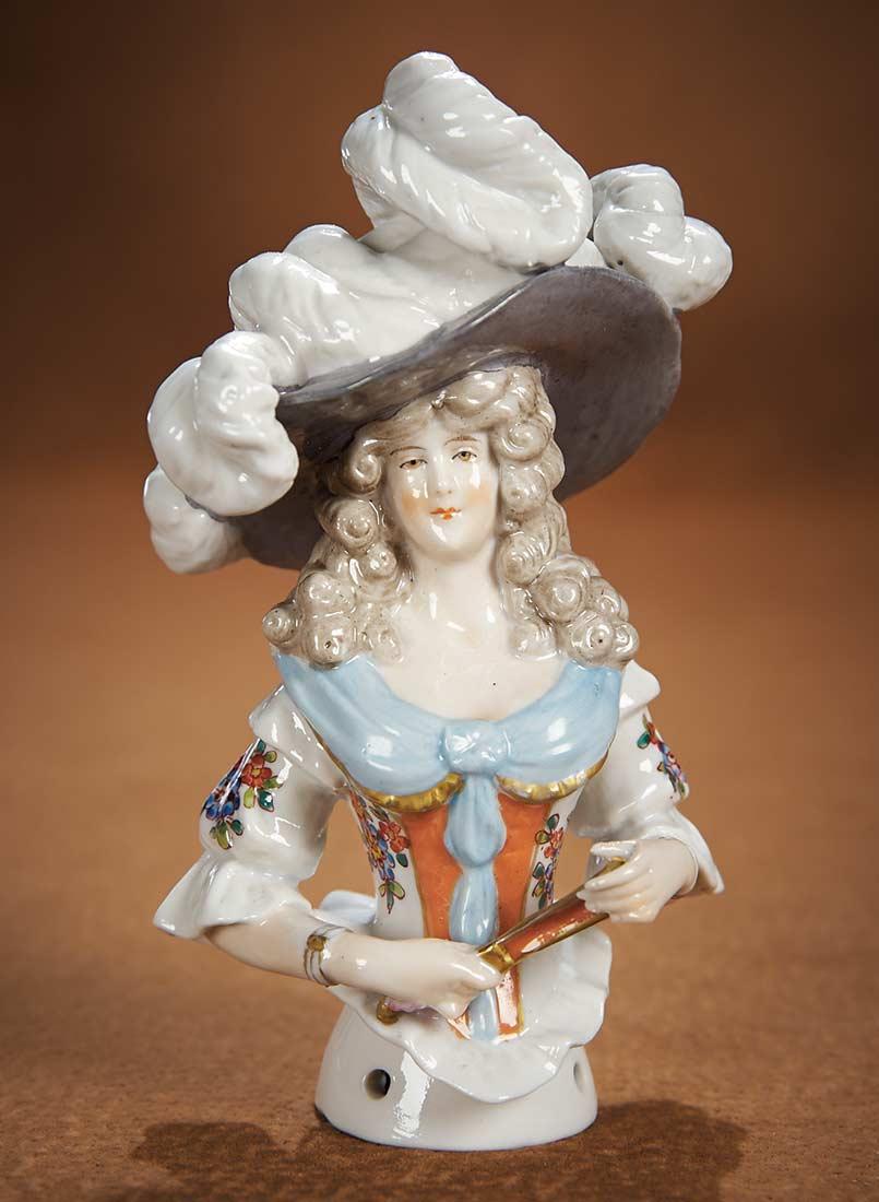 The Vanity Fair  Strong Museum Half Dolls 253 German