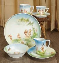 Sanctuary: 304 German Porcelain Dishes with Kewpie Themes ...