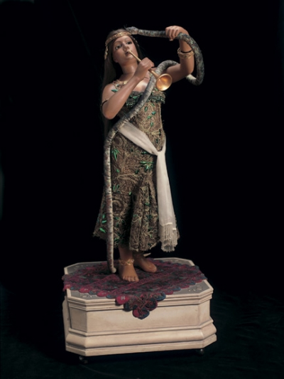 The Golden Age of Automata 9 The Snake Charmer by Roullet