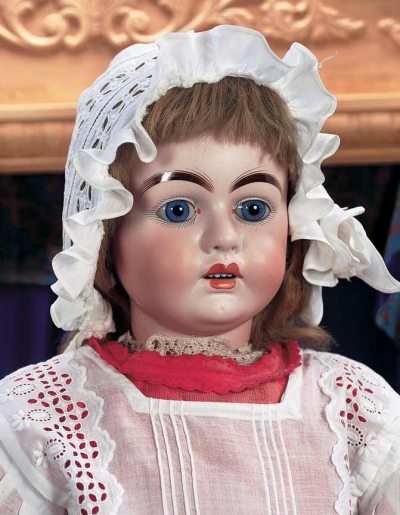 Puppen  Spielzeug Museum 202 Rare Bisque Child Doll by