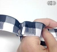 Adjustable Strap Bow Tie Tutorial
