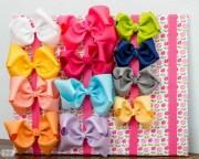 jumbo hair bow tutorial - ribbon