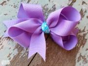 make side loop hair bow