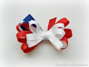 flag bow - ribbon retreat