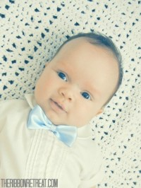 Infant Bow Tie Update - The Ribbon Retreat Blog