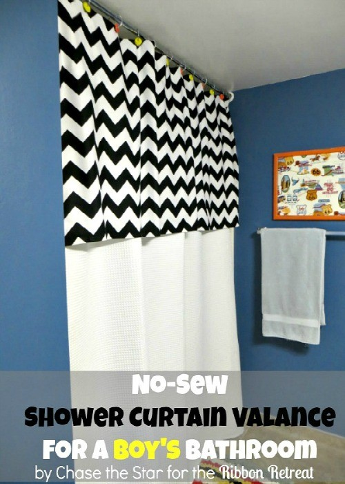 stylish home design ideas shower curtains with valance and tiebacks