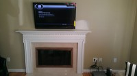 Canaan CT mount tv above fireplace | Home Theater Installation