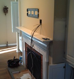wallingford ct lg tv over fireplace with wires concealed and ir repeater kit 11 [ 3264 x 1952 Pixel ]