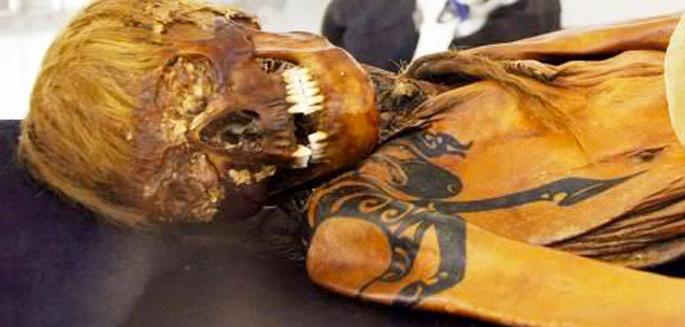 Les momies aussi sont tatoues