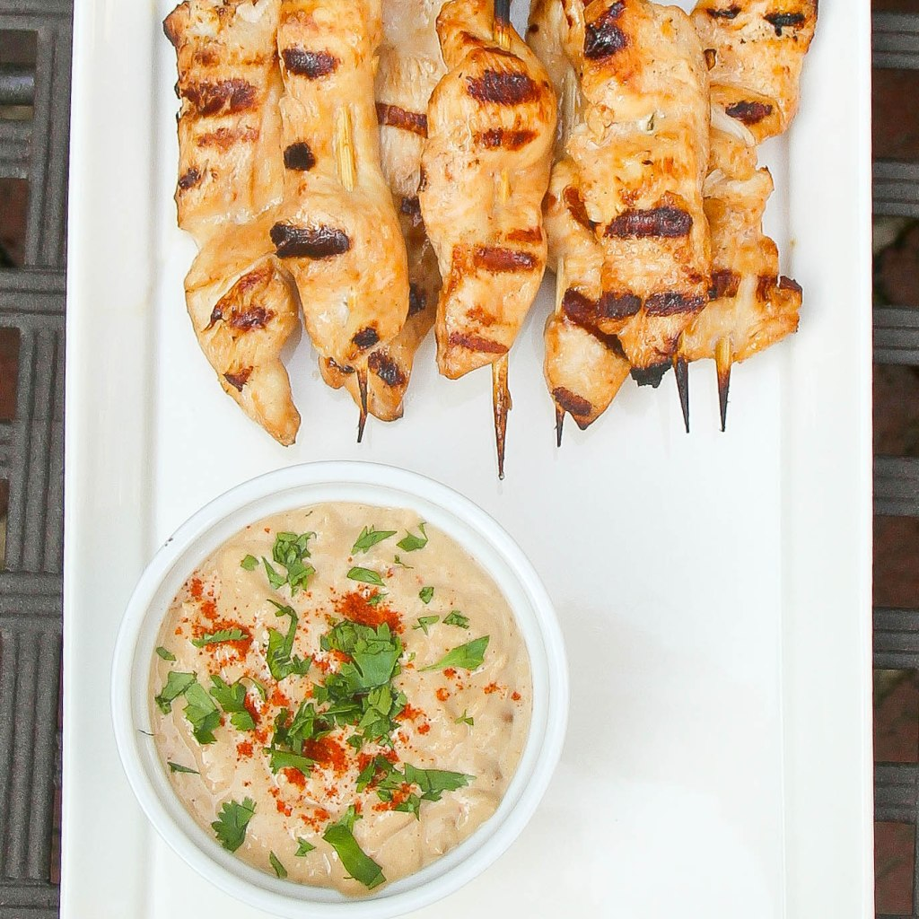 chicken satay to post