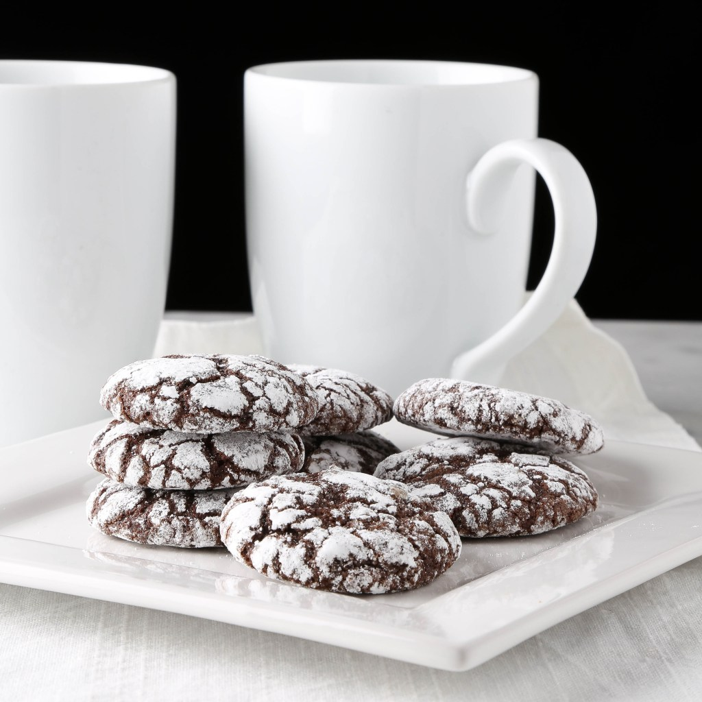 Chocolate Crinkle Cookies – The Right Recipe