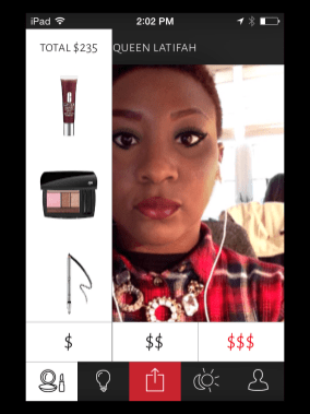"""Three different price points to """"get the look."""""""