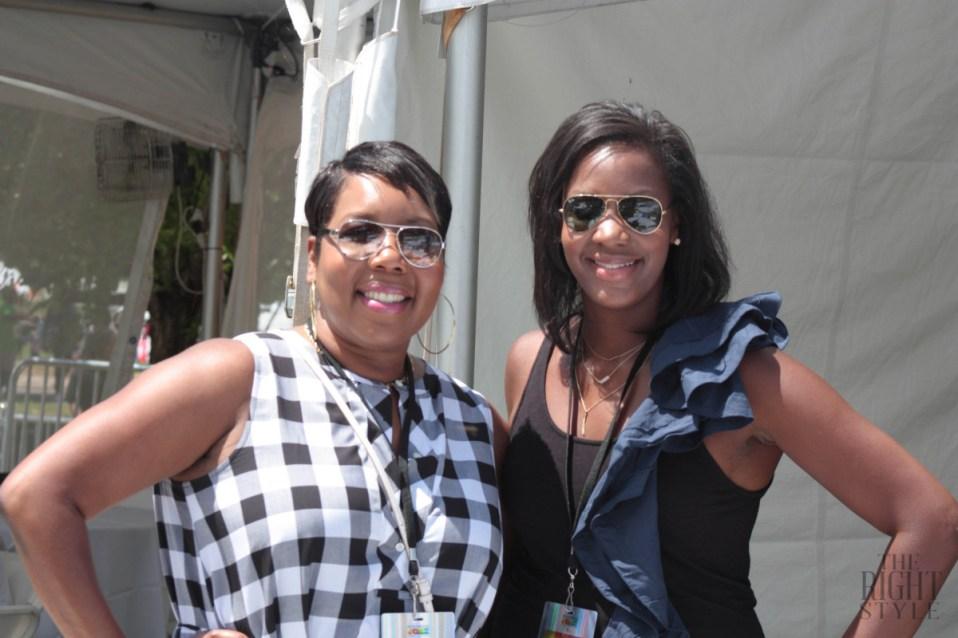 Kendra and Shelby, RVA Jazz Festival