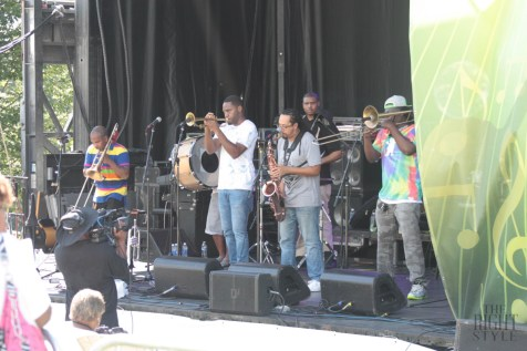 Rebirth Brass Band at RVA Jazz Festival at Maymont