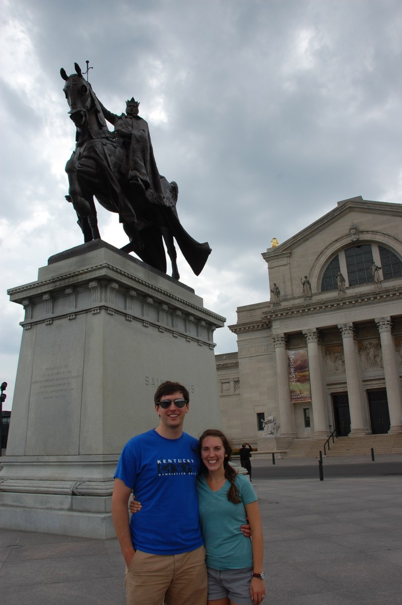 the oregon trail: day 1 (lexington, kentucky to kansas city, missouri)