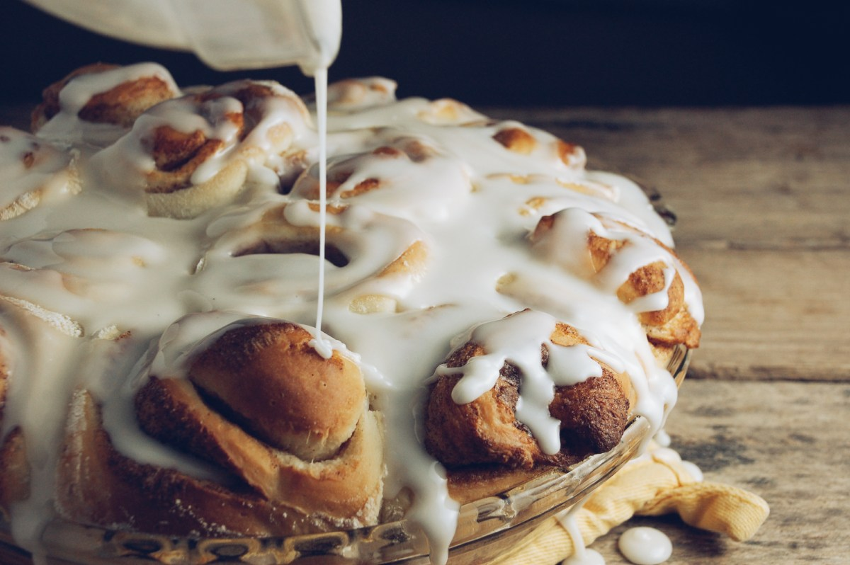 whiskey cinnamon rolls.