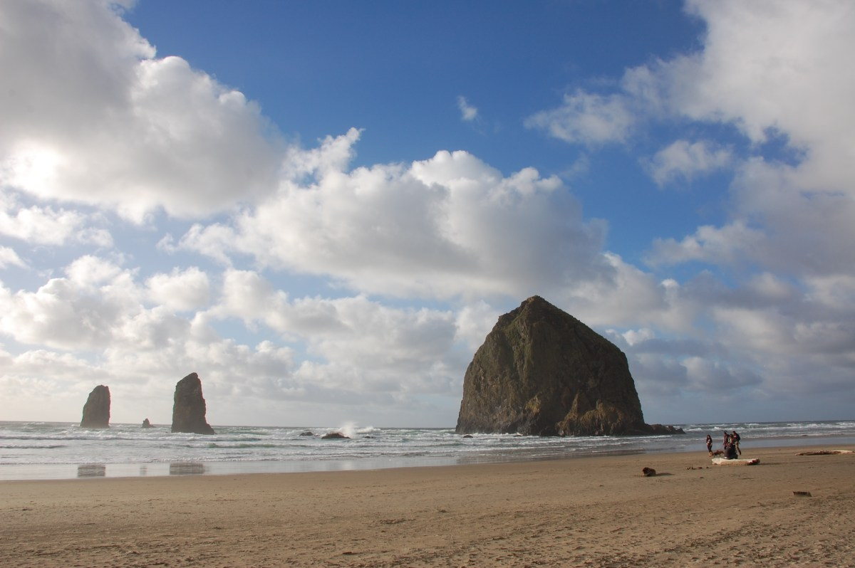 ecola state park and cannon beach.