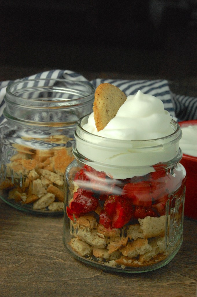 Strawberry Parfaits with Bourbon Whipped Cream | theringers.co