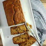 Zucchini Bread with no refined sugar. Naturally sweetened with maple syrup and dates, with 2 heaping cups of veggies! | theringers.co