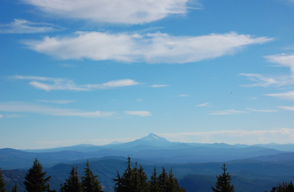View from Timberline Lodge | theringers.co