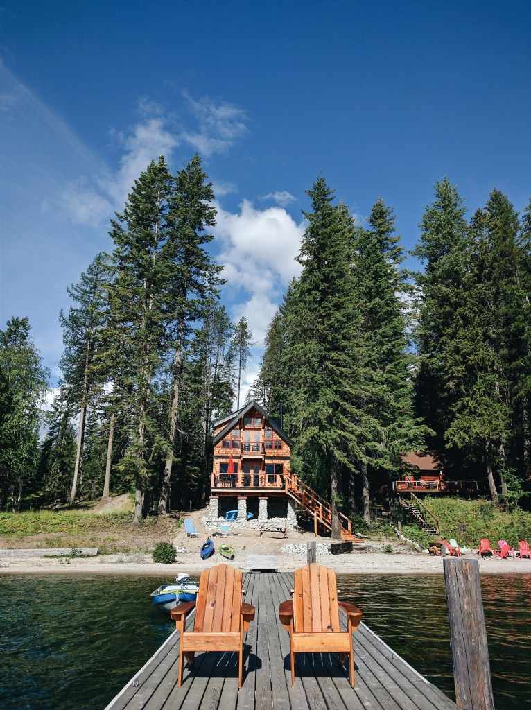 Cabin on Priest Lake, Idaho | theringers.co
