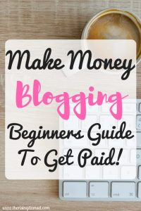 Make Money Blogging! Beginners Guide to get Paid! The Rising Damsel #girlboss #blogger #finance #freedom #success