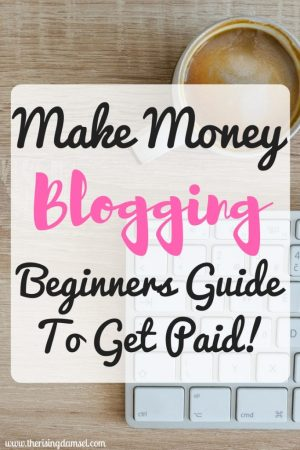 Make Money Blogging! Beginners Guide to get Paid! The Rising Damsel