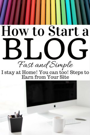 How to Start a Blog. Quick and Easy Blog Setup Guide. The Rising Damsel #blog #earn #wah #makemoney #blogger