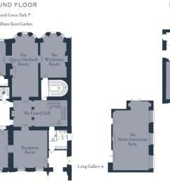 william kent house floor plan [ 1900 x 1228 Pixel ]