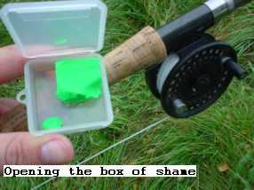 box of shame